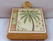 Joyero de madera decorado - artesanum com