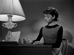 "Audrey in ""Sabrina""."