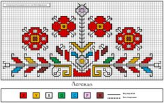 This Pin was discovered by Ell Hungarian Embroidery, Folk Embroidery, Cross Stitch Embroidery, Embroidery Patterns, Cross Stitch Borders, Cross Stitching, Cross Stitch Patterns, Vintage Cross Stitches, Arte Popular