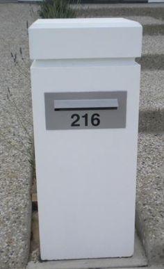 "Sandstone Letterboxes. The ""Regent"""