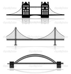 Golden Gate Bridge Outline