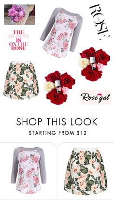 """Rosegal - Free shipping worldwide 14/90"" by deemonk ❤ liked on Polyvore featuring rosegal"
