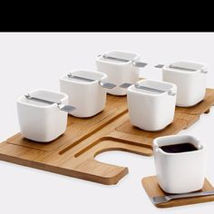 espresso set from the MOMA store