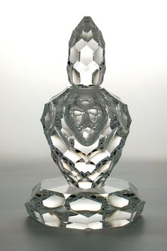 Shea Glass » Blog Archive » Facetted Perfume Bottle
