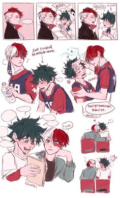 Yaoi, Fluff, Ships, AUs, and crossovers of BNHA pics! [None of the fanarts belong to me! They belong to their rightful owners!] Ranked: - Shota - Deku - Shoto - Katsuki Bakugou - All might - Ships [Jun my hero [Jun Boku No Hero Academia, Deku Hero Academia, My Hero Academia Memes, Hero Academia Characters, My Hero Academia Manga, Lgbt Anime, Film Anime, Anime Angel, Anime Cosplay