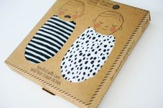 little deal // captain silly pants (they're back! with new prints! Clever Packaging, Brand Packaging, Packaging Design, Cardboard Packaging, Baby Store, Swaddle Blanket, Baby Gifts, Branding, Cool Stuff