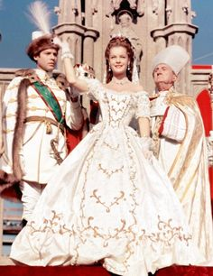 Romy Schneider as Sissi (2, 1956) coronation as queen of Hungary