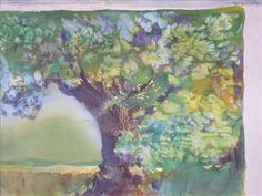 Paintings On Silk   Landscape, Silk Painting paintings & artwork, SAA