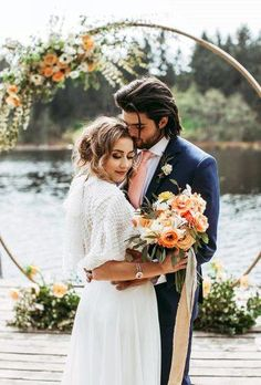 33 Magnificent Wedding Flower Wreath Photos ❤ wedding wreaths flower romantic couple near arch eternalreflectionsphotography Wedding Couple Poses Photography, Creative Wedding Photography, Wedding Photography Inspiration, Wedding Poses, Wedding Couples, Wedding Ideas, Wedding Planning, Wedding Inspiration, Groom Wedding Pictures