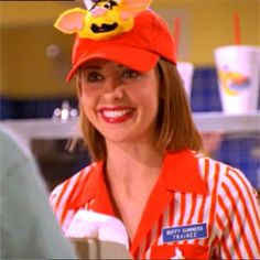 Me working at chilis was starting to feel like Buffy working at Doublemeat palace. Ie not good.
