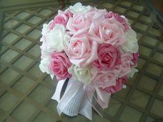 Buque - rosa claro com branco e pink