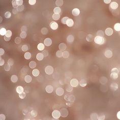 Star Bright Whimsical Fine Art Photography Shabby Chic Wall Decor Pale Peach Pink Light Bokeh Stars Pop, via Etsy.