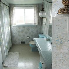 Blue & Grey Bathrooms | Natural Blue Bathroom Bathroom Design Gray 5233 › Blue Bathroom ...