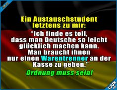 So sind wir eben! :) #TypsichDeutsch #Deutschland #sowahr #Rewe #Edeka #lustig #Humor #Jodel #Statusbilder Humour