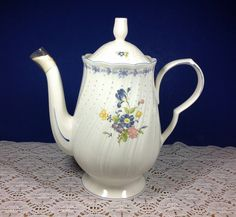 Other China \u0026 Dinnerware. Nikko Blue Peony Coffee Pot & Nikko EVENING LACE Coffee Pot 1223977 #Nikko | TEA COFFEE ...