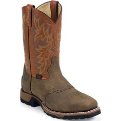 TW1052 Tony Lama Men's TLX Safety Boots - Brown