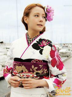 【トリンドル玲奈】Doll Reina Triendl 和服秋天代言 - 亚洲范 - 蝴蝶网 -