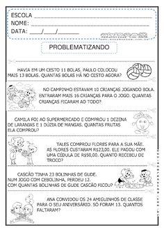 DESAFIANDO E PROBLEMATIZANDO - MATEMÁTICA - 2º ANO/ 3º ANO - Alfabetizar com AMOR