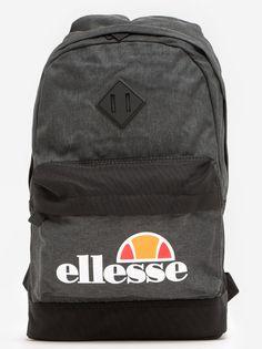 Larzo Backpack Black Charcoal Marl - ellesse - Urban City - skateshop, streetwear, sklep Hip Hop, odzież i buty z USA, Europy i Polski