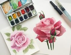 """Check out new work on my @Behance portfolio: """"Roses"""" http://be.net/gallery/33355447/Roses"""