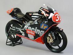 Racing Scale Models: Aprilia RSW 250 T.Harada 1998 by K'S Workshop