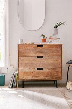 Urban Outfitters Morris Dresser | Scandinavian Design Interior Living | #scandinavian #interior