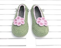#Crocheted #house #slippers #women #fashion #shoes by #JoyForToes