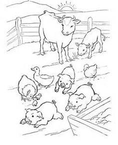 0f3ce0d5fd86db9b6277b ed1 animal coloring pages farm animals