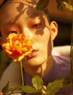The Secret Garden. Shin Hyun Ji photographed by Kim Hee June for Elle Korea February 2017.
