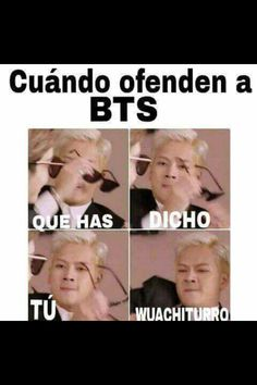 Read from the story Memes de BTS by PainMinTears (⭐Mad⭐) with reads. Hoseok Bts, Bts Bangtan Boy, Bts Jungkook, Seokjin, Taehyung, Bts Funny, Funny Memes, Bts Photo, Foto Bts