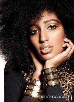 julia sarr jamois for sephora.com:My naturally curly inspiration!!!!