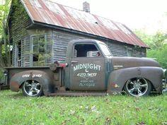 Chevrolet shop truck!