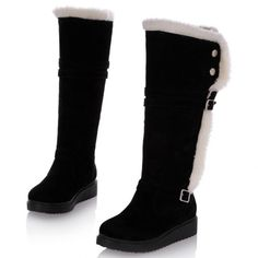 Comfortable&concise Knee High Flat Boot