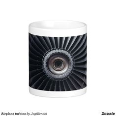 Airplane turbine  #jet #engine #turbine #airplane #technology #rotation #machine #aviation #flight #science #engineering #pilot #mug