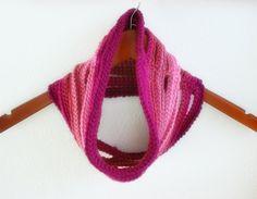 Ombre String Cowl Crochet Pattern