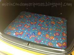 mi rincón de mariposas: Para el maletero del coche