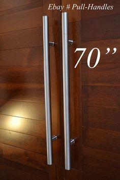 Set of long door curved push pull handles modern entryway design entry door pull long handle 70 1800mm brushed 304 stainless steel planetlyrics Image collections