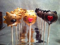 Lions, Tigers & Bears (Oh My) Cake Pops Facebook.com/normassweettreats