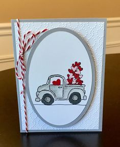 Valentine Card by Cindy Farina - at Splitcoaststampers