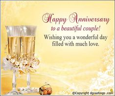 A very Happy Anniversary to the loving couple, Anniversary Cards Marriage Anniversary Cards, Anniversary Wishes For Parents, Happy Anniversary My Love, Happy Wedding Anniversary Wishes, Anniversary Message, Anniversary Greeting Cards, Happy Aniversary, Day Wishes, Birthday Memes