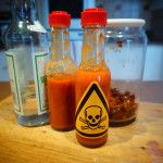 Extreme Buffalo Wing Sauce and chili oil extraction instructions
