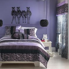 My stuff®/MD Zebra Darling Collection #ZebraPrintBedding