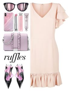 """What a Frill: Ruffles"" by dzansumansu ❤ liked on Polyvore featuring MICHAEL Michael Kors, STELLA McCARTNEY, Proenza Schouler, Chanel, Recover and Christian Dior"