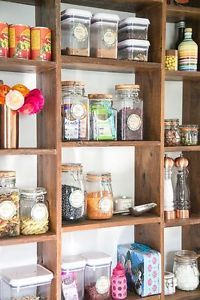 When we updated our kitchen, this style of shelving was non-negotiable! With everything out in the open, my husband and I knew we'd have to work hard at keeping things organized, useful and most of all...