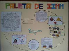 Rosa Aguado @Rousa_Aguado El resultado del trabajo con la paleta de IIMM en 3º ESO: Los polígonos. @maristasvigo #compostelaenruta #vigoenruta