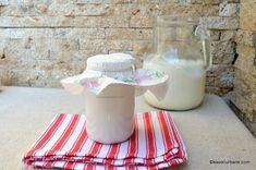 lapte prins de casa preparat traditional natural