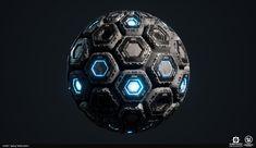 "ArtStation - Energy Cells, Harry ""deBug"" Emelianov Unreal Engine, Soccer Ball, Cyberpunk, Science Fiction, Concept Art, Engineering, Sci Fi, Conceptual Art, Football"
