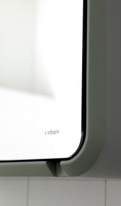 Inbani Fluent bathroom cabinet detail