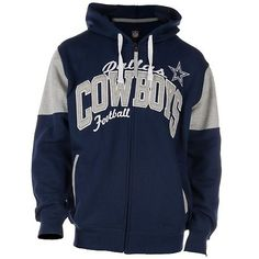 Dallas Cowboys Blitz Full-Zip Hoodie