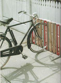 fahrradständer möbel aus paletten